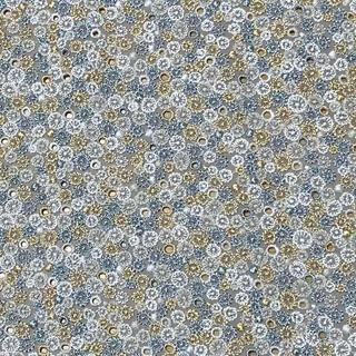 mina perhonen - ミナペルホネン skyfulライトグレー ファブリック