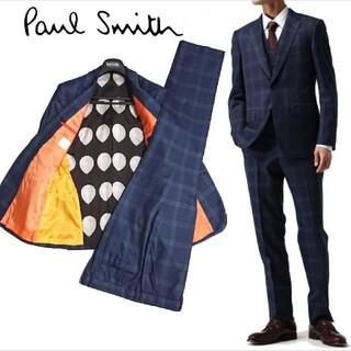 Paul Smith - 定価11万ポールスミス16AWカノニコ生地 裏地バルーン グレンチェック スーツ