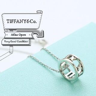 Tiffany & Co. - 新品仕上げ ティファニー TIFFANY アトラス オープン ネックレス