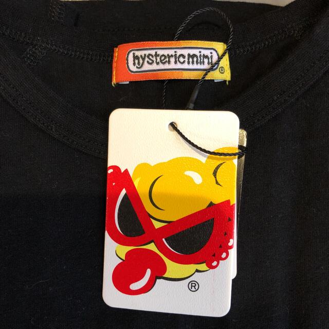 HYSTERIC MINI(ヒステリックミニ)の新品未使用タグ付き ヒステリックミニ ロンT トップス 薄トレーナー キッズ/ベビー/マタニティのキッズ服女の子用(90cm~)(Tシャツ/カットソー)の商品写真