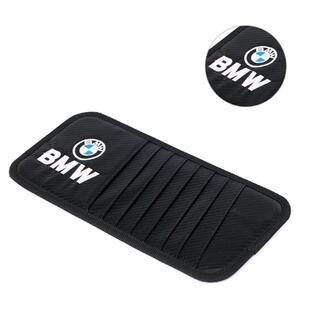 BMW-サンバイザー収納 ブラックカーボン調 バージョンアップモデル(車内アクセサリ)