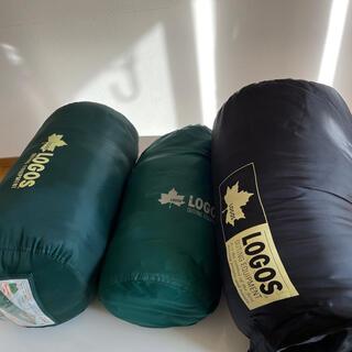 ロゴス(LOGOS)のロゴス サマーシュラフ 大人2個 子供1個 3個セット(寝袋/寝具)