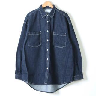 COMOLI - Graphpaper 21SS新品 グラフペーパー デニムシャツ 1 インディゴ