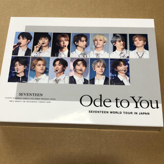 SEVENTEEN - ode to you Japan Blu-ray