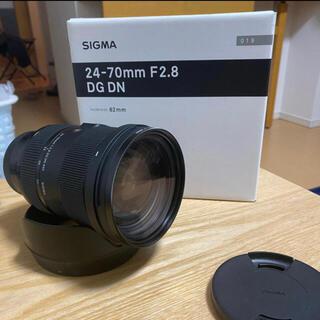 SIGMA - 超美品 SIGMA 24-70mm F2.8 DG DN Art Lマウント