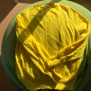 ENFOLD - エンフォルド黄色定番ニット38