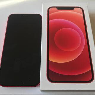 Apple - iPhone12  128GB RED simフリー