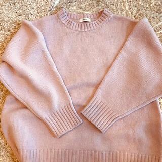 Drawer - OBLI 完売 ピンク セーター