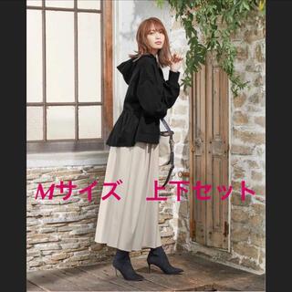 しまむら - HK WORKS  LONDON パーカー&スカート M 新品
