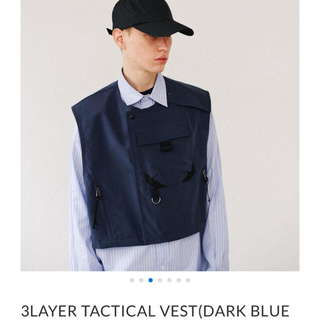 SUNSEA - 3LAYER TACTICAL VEST  ryo takashima