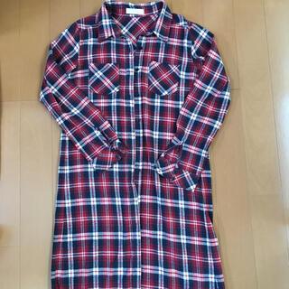 CECIL McBEE - セシルマクビー!チェックシャツ  シャツワンピース
