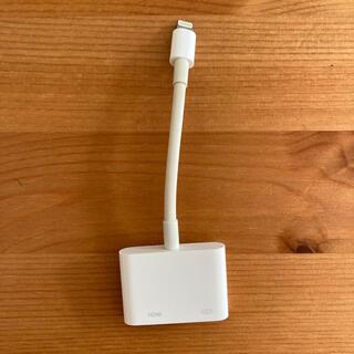 アップル(Apple)のApple - Digital AVアダプター(映像用ケーブル)