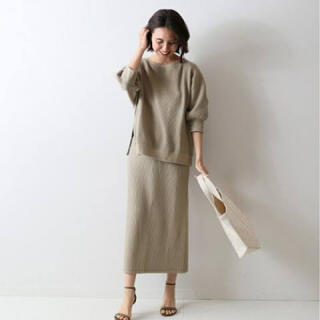 FRAMeWORK - 新品♡上下セット販売♡フレームワーク♡ラゲットリブトップス&スカート♡