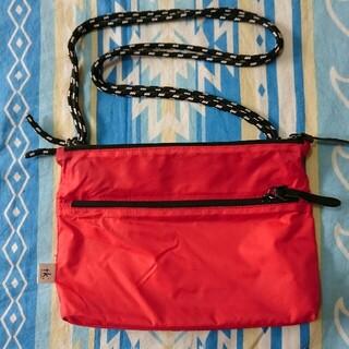 タケオキクチ(TAKEO KIKUCHI)のタケオキクチ サコッシュバッグ 赤(ショルダーバッグ)