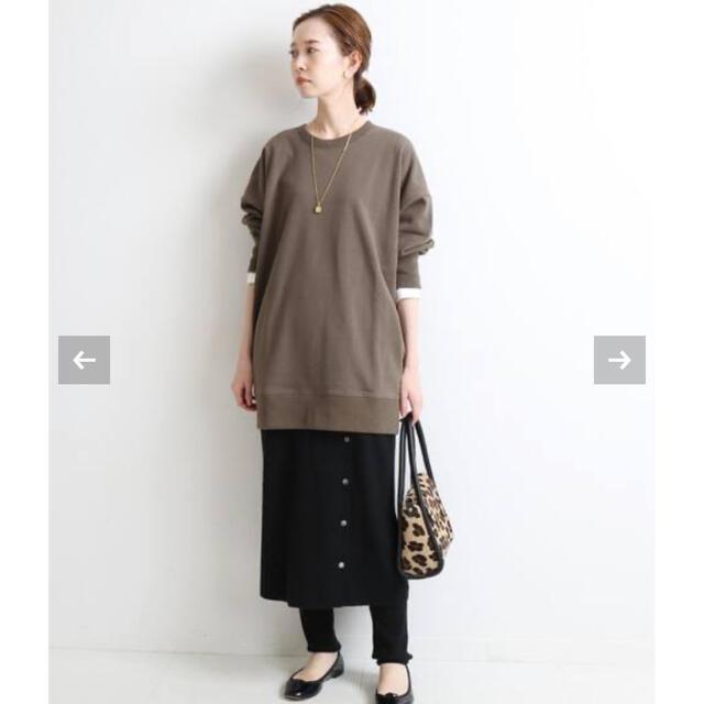 IENA(イエナ)のIENA ラップスカート風スカッツ36 レディースのスカート(ひざ丈スカート)の商品写真
