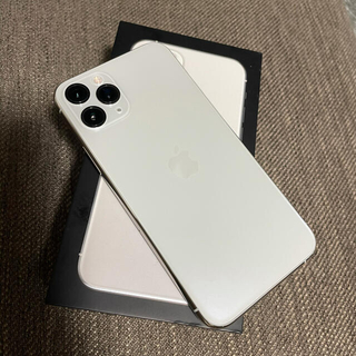 iPhone - 本日限定値下げ iPhone 11 Pro シルバー 64 GB SIMフリー