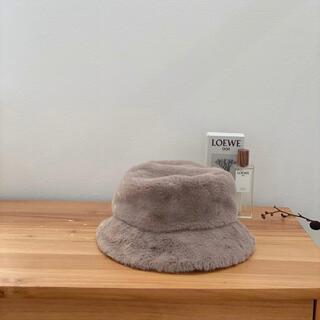 TODAYFUL - 帽子 ファーバケットハット