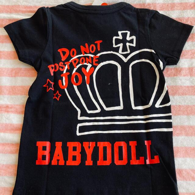 BABYDOLL(ベビードール)のベビードール Tシャツ90サイズ キッズ/ベビー/マタニティのキッズ服女の子用(90cm~)(Tシャツ/カットソー)の商品写真