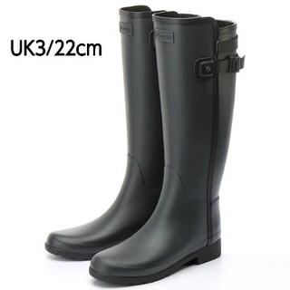 HUNTER - 【新品未使用】ハンターリファインドスリムフィット コントラストトールブーツ 長靴