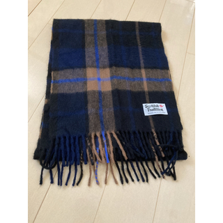 BEAUTY&YOUTH UNITED ARROWS - Scottish Tradition マフラー チェック ストール