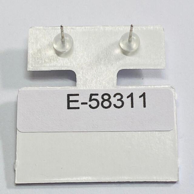 E-58311 PT900 ピアス エメラルド 0.20ct AANI アニ レディースのアクセサリー(ピアス)の商品写真