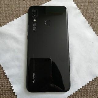 アンドロイド(ANDROID)のHUAWEI P20 lite 黒 SIMフリー(スマートフォン本体)