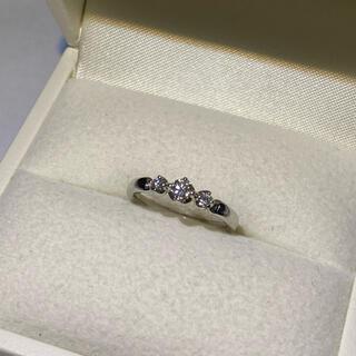 ヨンドシー(4℃)の4℃ プラチナダイヤモンドリング(リング(指輪))