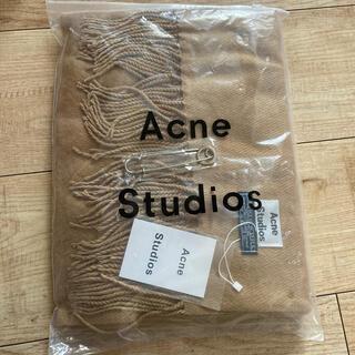 ACNE - アクネストゥディオズAcne旧タグウールマフラーキャメル新品