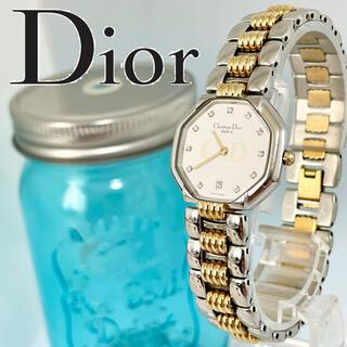 Christian Dior - 238 クリスチャンディオール時計 レディース腕時計 11Pダイヤ デイト