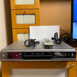 ミツビシ(三菱)のMITSUBISHI 楽レコ DVR-HE650 DVD レコーダー(DVDレコーダー)
