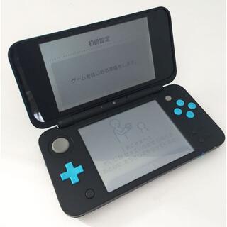 ニンテンドウ(任天堂)のNewニンテンドー2DS LL ブラック×ターコイズ(携帯用ゲーム機本体)