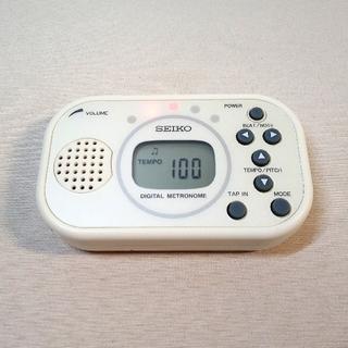 セイコー(SEIKO)の【SEIKO】デジタルメトロノーム DM100(送料無料)(その他)