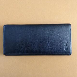 ポロラルフローレン(POLO RALPH LAUREN)のPOLO 長財布(黒)未使用品 (長財布)