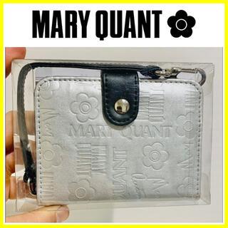 マリークワント(MARY QUANT)の限定品■MARY QUANT マリークワント カードケース ミラー ストラップ(パスケース/IDカードホルダー)