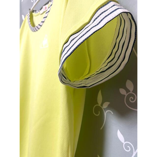 le coq sportif(ルコックスポルティフ)のle coq sportif テニス Tシャツ ウェア レディース M スポーツ/アウトドアのテニス(ウェア)の商品写真