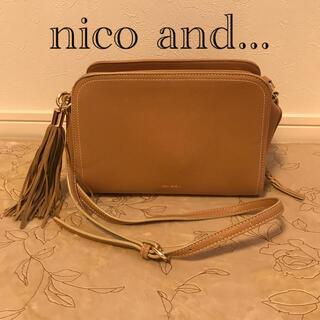 niko and... - nico and... ショルダーバッグ オレンジ