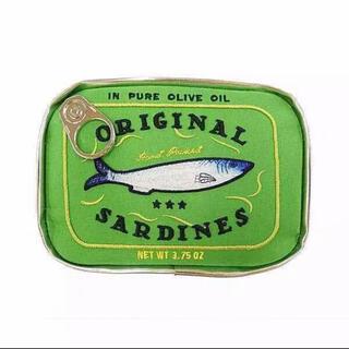 ユナイテッドアローズ(UNITED ARROWS)のオイルサーディン缶詰型 ポーチ(ポーチ)