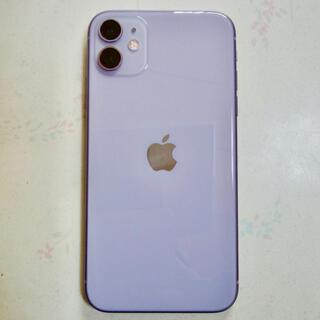 Apple - 【1/25のみ】iPhone11 128gb パープル simロック解除