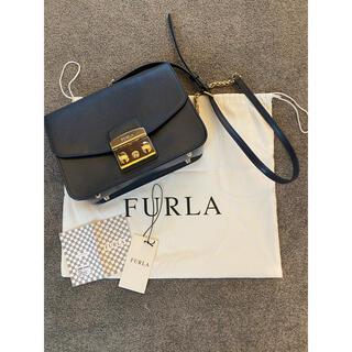 Furla - FURLA フルラ メトロポリス ショルダー BLU D ネイビー