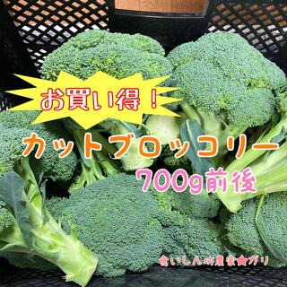 【プロ農家が作る】香川県産カットブロッコリー コンパクト700g 新鮮野菜