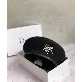 Christian Dior - 在庫ありDiorレディースハット帽子ハンチングベレー帽ディオール ロゴ