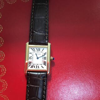 Cartier - カルティエ タンクソロ 美品 SM