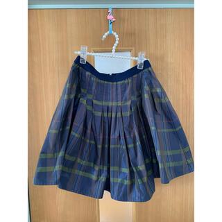 ハニーミーハニー(Honey mi Honey)のハニーミーハニー チェック スカート(ひざ丈スカート)