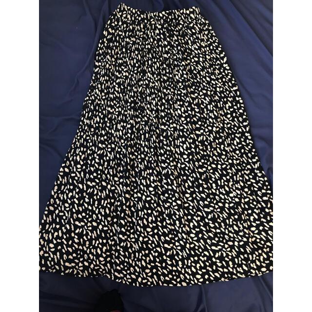fifth(フィフス)のFifth レオパードプリーツスカート レディースのスカート(ロングスカート)の商品写真