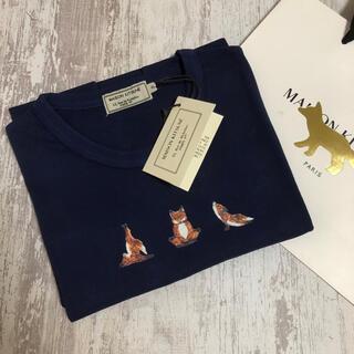 MAISON KITSUNE' - 【新品】メゾンキツネ ヨガフォックス Tシャツ S