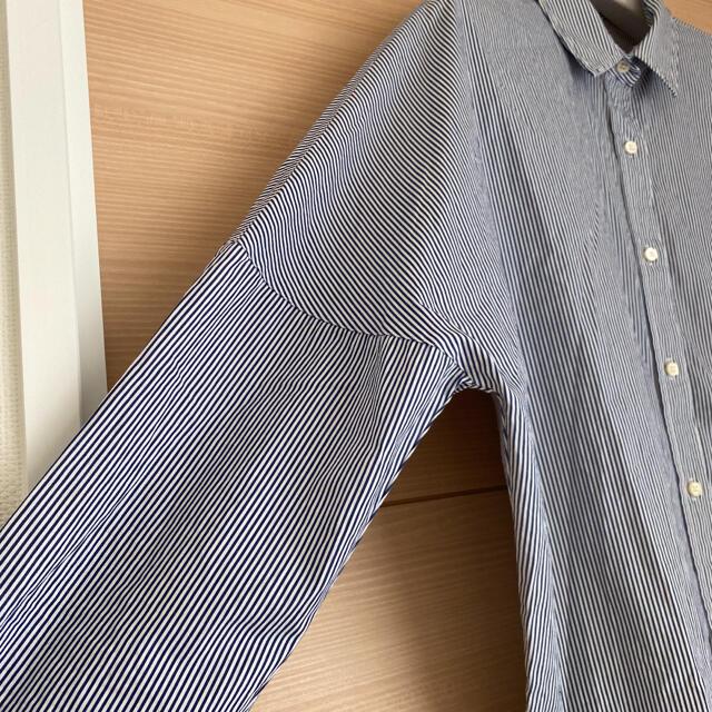DEUXIEME CLASSE(ドゥーズィエムクラス)のyuko様専用   ストライプ ドロップショルダー シャツ レディースのトップス(シャツ/ブラウス(長袖/七分))の商品写真