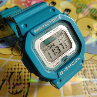 G-SHOCK - glx−5600a 水色 ブルー タイドグラフ