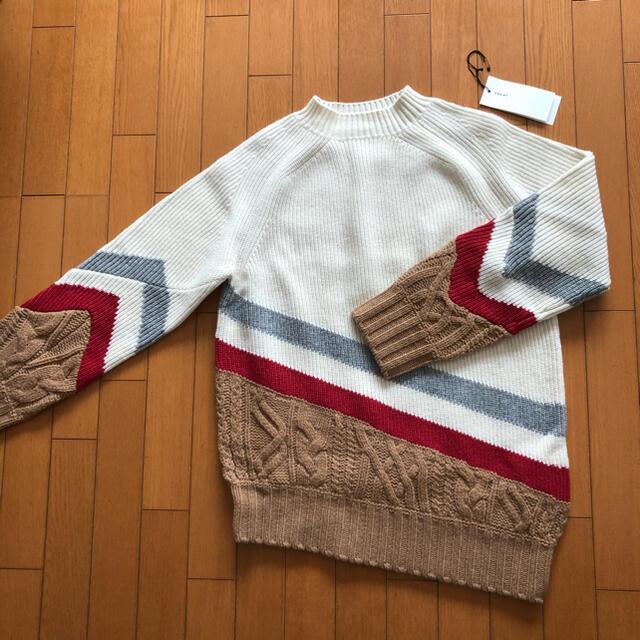 sacai(サカイ)のレア sacai 19aw  ニット セーター タートルネック メンズのトップス(ニット/セーター)の商品写真
