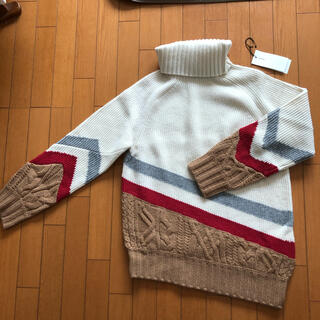 sacai - レア sacai 19aw  ニット セーター タートルネック