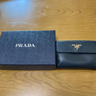 プラダ(PRADA)のPRADA 二つ折り財布 期間限定大幅値下げ!(財布)